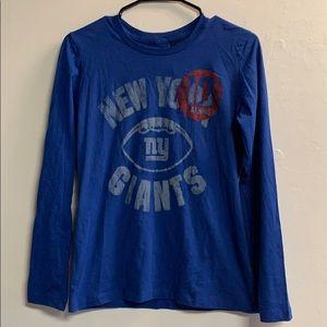 NFL Tops - New York Giants shirt NFL long sleeved medium